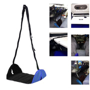 Portable Lightweight Airplane Travel Footrest Foot Rest Hangmat Table Hanging Feet Leisure Pad ASD88