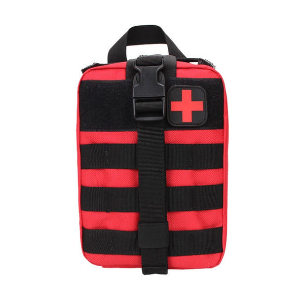 Portable Outdoor Medical Cover Hunting Emergency Survival Package Utility Tactical Pouch Medical First Aid Kit Patch Bag