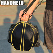 Portable Outdoor Sports Shoulder Soccer Ball Bags Training Equipment Accessories Kids Football Volleyball Basketball PVC Bag