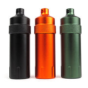 Portable Useful Outdoor Waterproof Metal Pill Box Case Bottle Holder Medicine Pill Cases Splitters 1Pc EDC