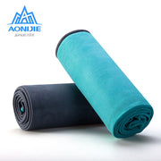 Portable Yoga Mat Towel Sport Fitness Swimming Anti-slip Mat Gym Exercise Pilates Workout Training Blanket Soft Towel