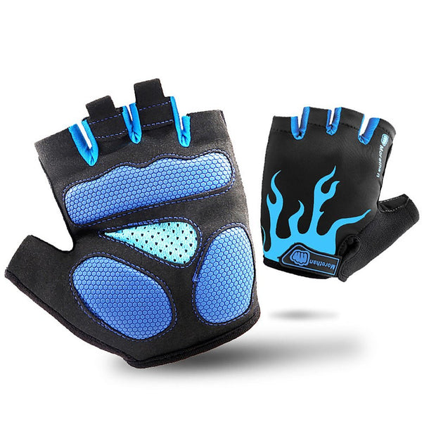 Protective Half Finger Gloves Outdoor Tactical Gloves Riding Sports Fitness Climbing Non-slip Gloves