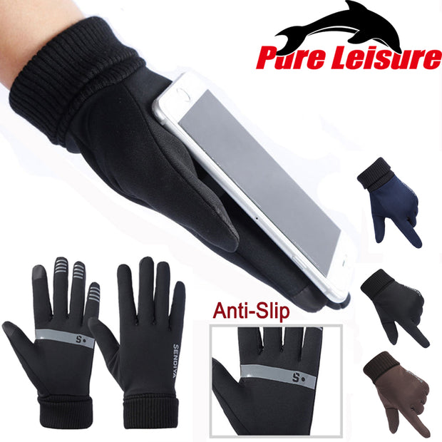 PureLeisure Anti-Slip Fishing Gloves Full Finger Durable Outdoor Sports Fishing Gloves Pesca Fitness Carp Fishing Accessories