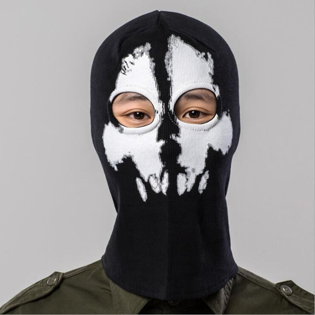 Q1014 Free Shipping Cycling Full Face Mask Balaclava Snowboard Riding Costume CS Headgear Hats Face Masks