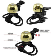 Q1024 Mountain Bike MTB Bicycle Horns Cycling Bicycle Bells Copper Plastic Material Folding Bike Bicycle Bell Accessories