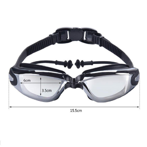 Ranka Adult Professional Myopia Swimming Goggles Men Women Arena Diopter Swim Eyewear Anti Fog Swimming Glasses -1.5~-8.0