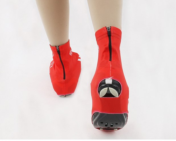 Red Cycling Winter Warm Bicycle Windproof Overshoes Sports XINTOWN Bike Shoe Cover