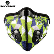 Rockbros Training Mask Sport Bike Bicycle Motocross Cycling Face Mask Filter Air Pollutant Neoprene Dust Mask Mascaras Ciclismo