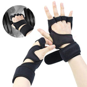 Running Gloves Wrist Support For Gym Fitness Weight Lifting Gloves Crossfit Training Guanti Sports Silicone Pad