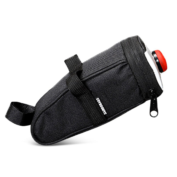 SAHOO 132005 Water-resistant Bike Saddle Bag Under Seat Pack With Trail Lamp
