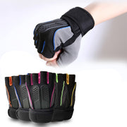 SJ-Maurie Anti-slip Outdoor Half Finger Running Gloves Weight Lifting Sports Gloves For Climbing Riding Hiking Fishing Gloves