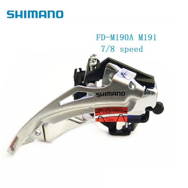 Shimano Front Derailleur FD M191 M190 31.8mm 34.9mm 7s 8s 21s 24 Speed MTB Road Bicycle Front Derailleur Original Accessories
