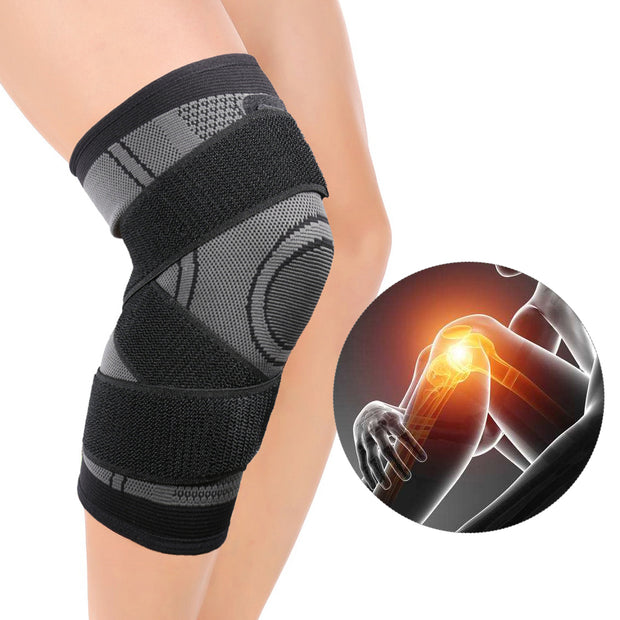 Sports Knee Brace Patella Support Protector Men Women Knee Non-slip Knee Relief Basketball Cycling Sports Climbing Protectors