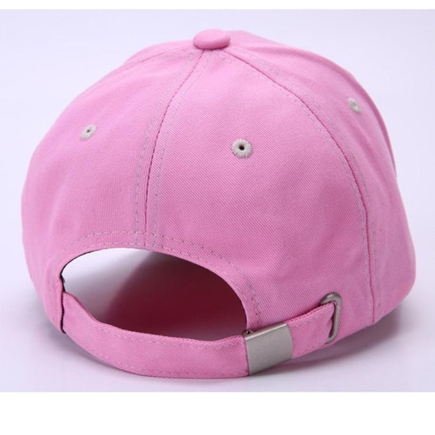 Summer Women Fruit Embroidered Golf Hat Adjustable Baseball Cap Polyester Girl Flower Printing Women's Baseball Cap Casquette