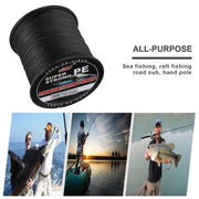 Super Strong 4 Strand 500M Premium PE Braided Fishing Line Lake Multifilament Wire Woven Thread Drop Shipping