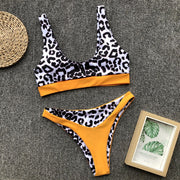 Swiming Suit Women Sexy Bikini Push Up 2019 Girl Leopard Print Swim Suit Hot Bikinis Set Girls Swimwear Biquinis Feminino 2018