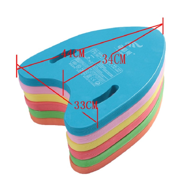 Swimming Air Mattresses Floating Plate EVA Board Flotage Pontoon Kickboard Kids Safe Training Aid Floating Board Buoyancy Foam