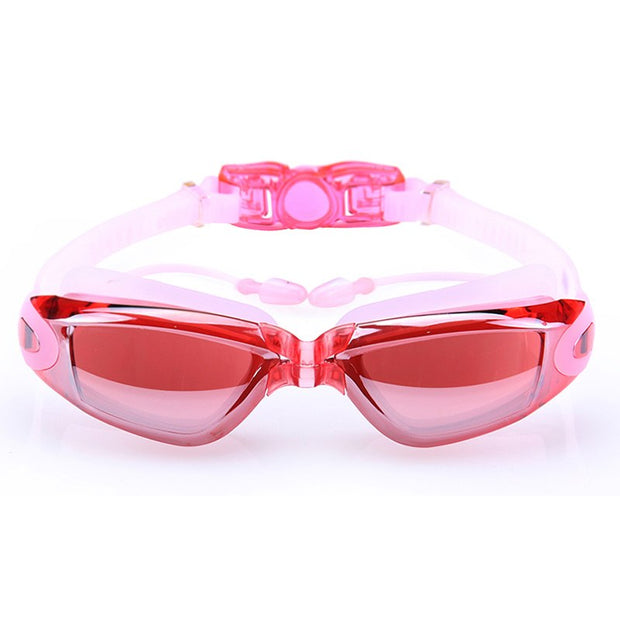 Swimming Goggles Anti-Fog UV Protection Crystal Clear Vision With Protective Case Fit For Adults Men Women Kids Shop XR-