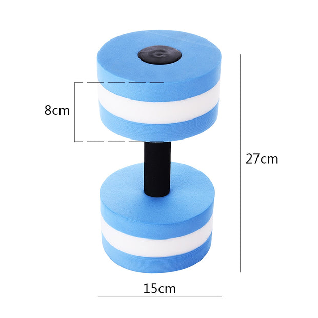Swimming Pool Water Aerobics Dumbbell Adult Child Interaction Aquatic Barbell Fitness Barbells Gym Exercise Training Equipment