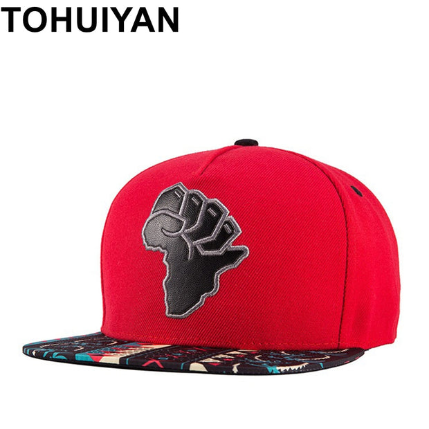 TOHUIYAN 2018 New Fashion Baseball Hat Unisex 3D Embroidery Snapback Cap Men Women Hip Hop Hat Brand Adjustable Street Caps Hats