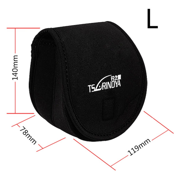 TSURINOYA Spinning Reel Pouch Fishing Reel Bag Protective Case Cover Holder Fishing Bags Suitable For Spinning Reels 800-5000