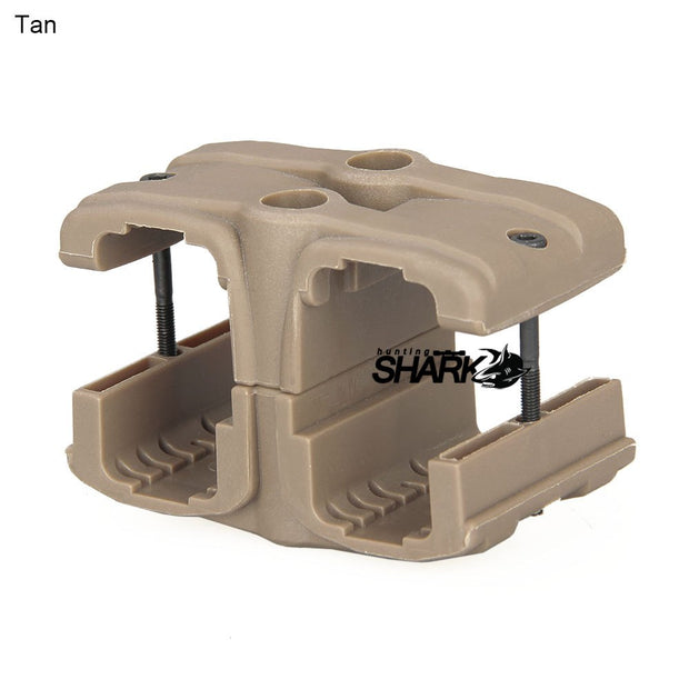Tactical Black Color Dual Magazine Fast Clip For MP7 Series Airsoft AEG GBB For Outdoor Hunting Accessory HS33-0211