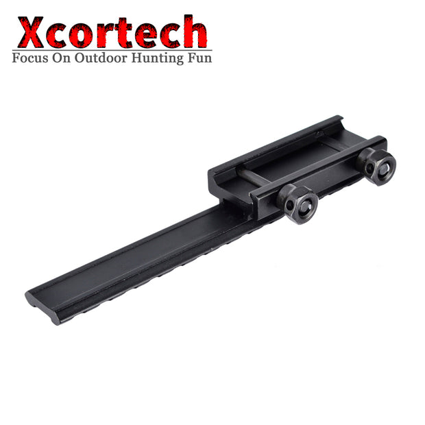 Tactical Extened High Riser Base Flat Top 145MM Length 20mm Picatinny/Weaver Rail Mount 14 Slots For AR15