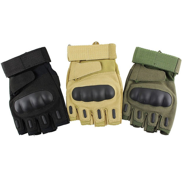 Tactical Gloves Army Military Airsoft Outdoor Mountaineering Shooting Paintball Half Finger Gloves Riding Gloves
