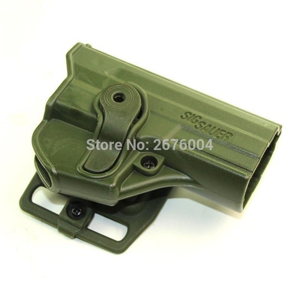 Tactical Hunting Gun Holster Outdoor Airsoft Paintball Right Hand Belt Pistol Holster For Sig Sauer P220