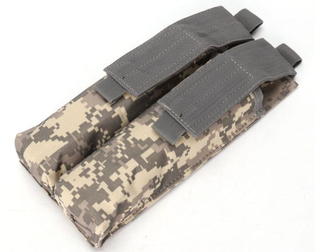 Tactical MOLLE P90 Magazine Pouch Double Stack Bag Mag Carrier Utility Case For Hunting Outdoors