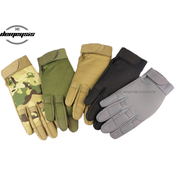Tactical Multicam Gloves Military Army Paintball Airsoft Full Finger Gloves Shooting Camo Sport Full Finger Gloves