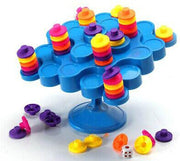 Topple Balance Puzzle Board Game Travel Package Kids Children Family Interactive Activity Game