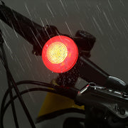 USB Charge Bicycle Bike Light Rear Tail Lamp Riding Caution Warning Lamp New Arrival I300204