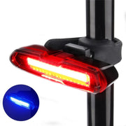 USB Rechargeable Bicycle Taillight Cycling LED Rear Light Waterproof MTB Road Bike Tail Light Back Lamp For Bicycle #2M16
