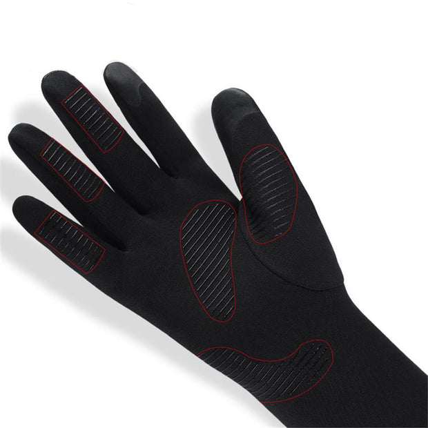 Unisex Fleece Windproof Winter Gloves Touchscreen Mittens For SmartPhone Cold Weather Waterproof/Windproof Light Warm Cycling