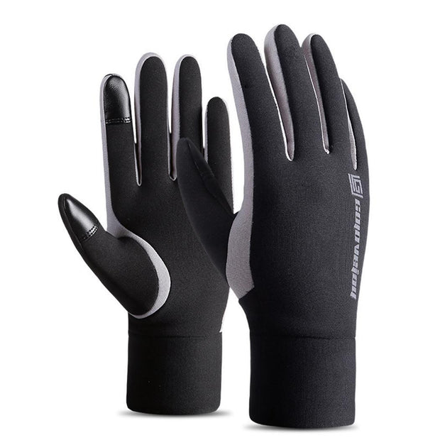 Unisex Waterproof Windproof Soft Full-Finger Touch Screen Outdoor Sport Glove