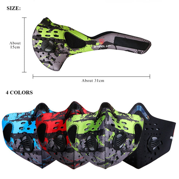 Unisex Winter Protection PM2.5 Dustproof Half Face Windproof Mask Riding Motorcy Bike Bicycle Cycling Face Mask Free Shiping