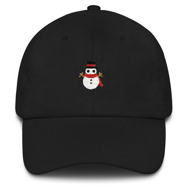 Unisex Fashion High Quality Snowman Dad Hat 100% Cotton Embroidery New Snapback Baseball Cap Hip Hop Hats Panama All Matched