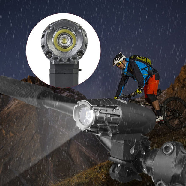Universal Bicycle Light USB Rechargeable Mountain Bike Headlight With XPG For Outdoor Riding At Night 2256 Hot