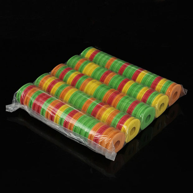 WALK FISH 100PCS/Lot Winding Board Fishing Line Tackle Accessories Foam Board Trace Wire Swivel Tackle Fishing Box Tools