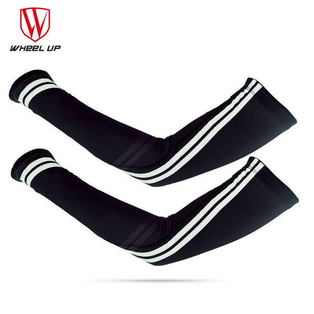 WHEEL UP UV Proof Sunscreen Cycling Arm Sleeves Summer Icecool MTB Bike Arm Protection Armwears Outdoor Riding Bicycle Equipment