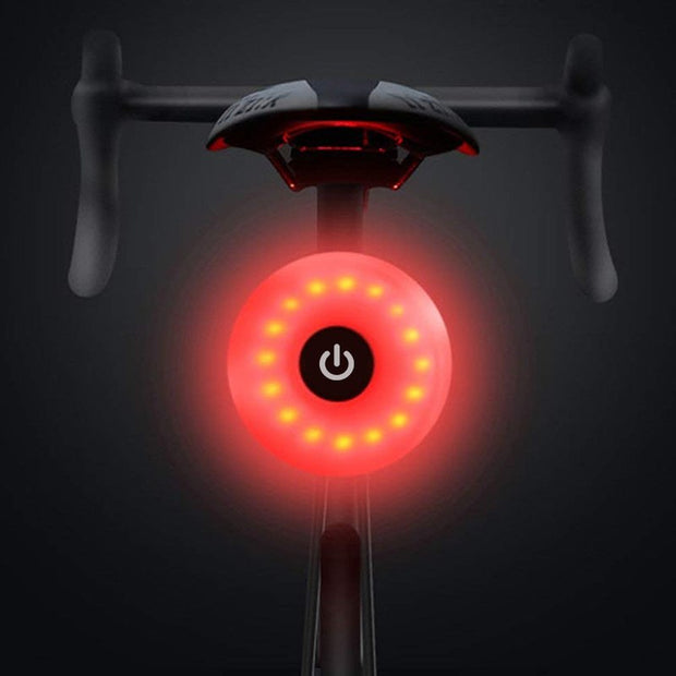 WasaFire Bicycle Light Bike Rear Light Taillight USB Rechargeable Mini LED Flashlight Safety Warning Lights Cycling Accessory
