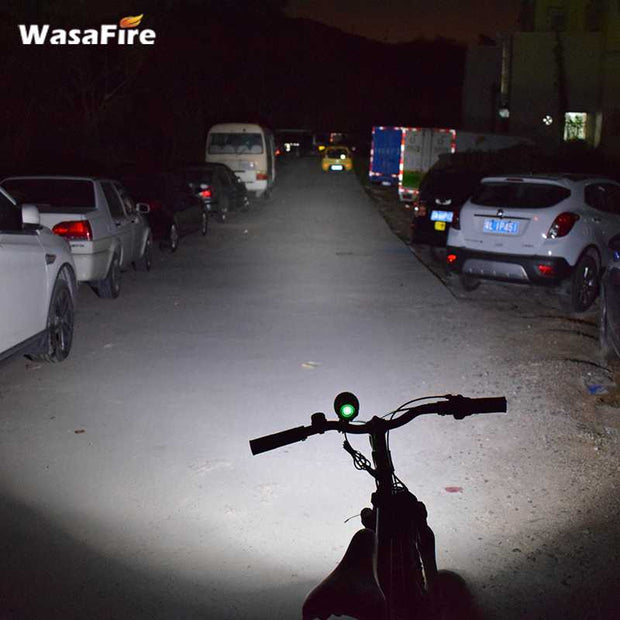 WasaFire USB LED Bike Light Farol Road Bicycle Front Light XML T6 3 Modes Bicycle Lamp Cycling Frontlamp Headlight Fishing Lamps