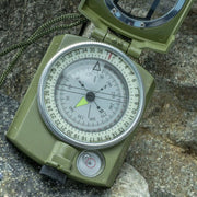 Waterproof Compass Military Army Geology Compass Sighting Luminous Compass For Outdoor Camping Hiking D1