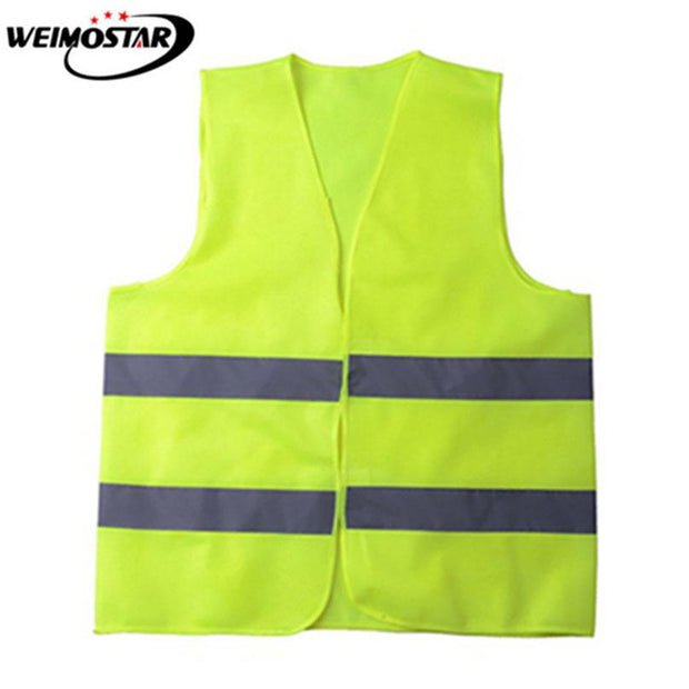 Weimostar Cycling Vest Outdoor Sports Cycling Vest Running Reflective Vest Adjustable Jogging Lightweight Mesh Safety Gear