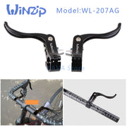 WiNZiP 207AG A Pair Bicycle Brake Levers For Road Bike Fixed Gear Deputy Vice Brake Road Bike Parts Brake Handle