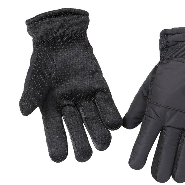 Winter Cycling Gloves Thermal Warm Windproof Full Finger Bike Gloves Anti-slip Bicycle Gloves For Men Women1