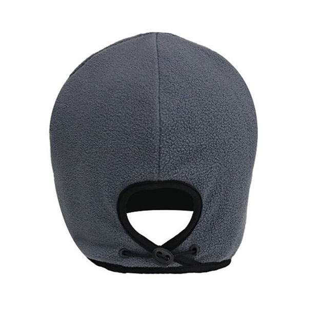 Winter Outdoor Sports Cycling Caps Men Fleece Hat Bicycle Snowboard Warmer Caps Riding Running Windproof Headband Ear Protection