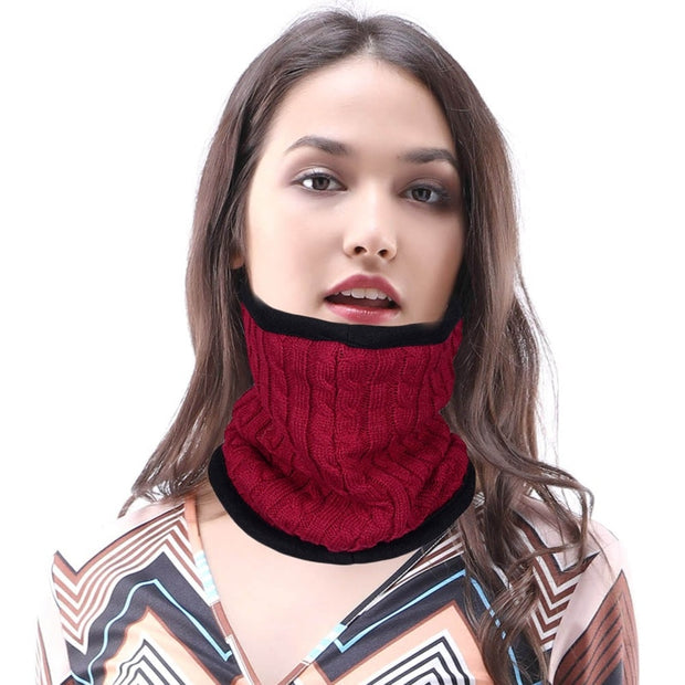 Winter Windproof Elastic Breathable Half Face Mask Outdoors Neck Hood Cycling Riding Head Scarves Sports Scarf Face Cover
