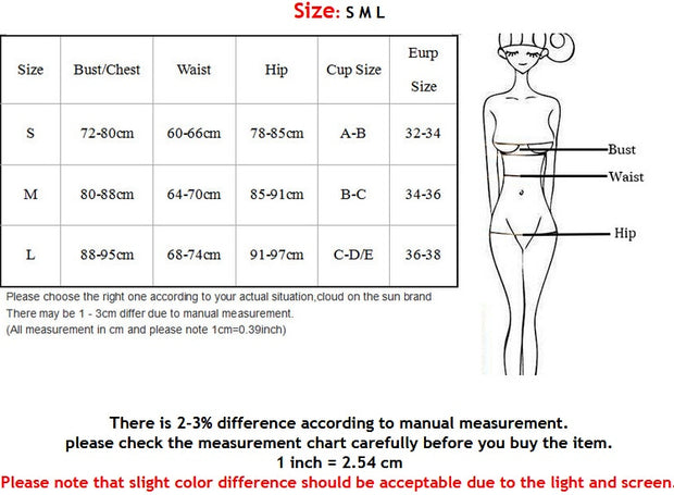 Women Swimwear Beachwear Bathing Suit Solid Adjustable Swimsuit Bikini Set Monokini Push Up Beach Wear Summer